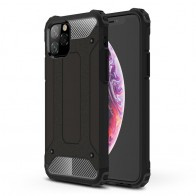 Mobiq Rugged Armor Case iPhone 11 Pro Max Zwart - 1