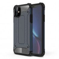 Mobiq Rugged Armor Case iPhone 11 Donkerblauw - 1
