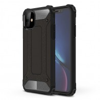 Mobiq Rugged Armor Case iPhone 11 Zwart - 1