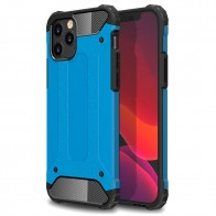 Mobiq - Rugged Armor Case iPhone 12 6.1 Blauw - 1