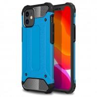 Mobiq - Rugged Armor Case iPhone 12 Mini Blauw - 1