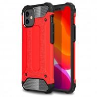 Mobiq - Rugged Armor Case iPhone 12 Mini Rood - 1