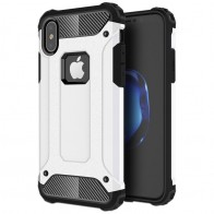Mobiq Rugegd Armor Case iPhone X Wit  - 1