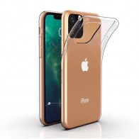 Mobiq TPU Hoesje iPhone 11 Transparant - 1