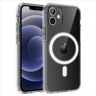 Mobiq Transparant Magsafe Hoesje iPhone 12 Mini - 1