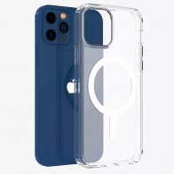 Mobiq Transparant Magsafe Hoesje iPhone 12 Pro Max - 1