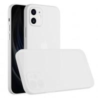 Mobiq - Ultra Dun 0.3mm Hoesje iPhone 12 Pro Max Transparant - 1