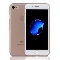Mobiq Ultra Dun 0,35 mm Hoesje iPhone 8/7 Grijs - 1