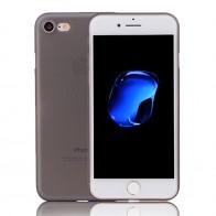 Mobiq Ultra Dun 0,35 mm Hoesje iPhone 8/7 Zwart - 1