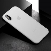 Mobiq - Ultra Slim 0,4mm Case Apple iPhone X Black 01