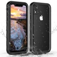 Mobiq - Waterdicht Hoesje iPhone XR Zwart - 1