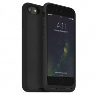 Mophie Charge Force Case iPhone 8/7/6S/6 Black Leather - 1
