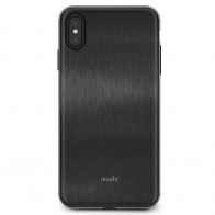 Moshi iGlaze iPhone XS Max Boekhoesje Armour Black 01