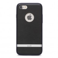 Moshi iGlaze Napa iPhone 7 Charcoal Black - 1