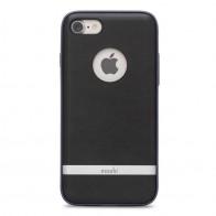 Moshi iGlaze Napa iPhone 7 Charcoal Black - 1