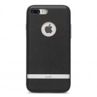 Moshi iGlaze Napa iPhone 7 Plus Charcoal Black - 1