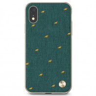 Moshi Overture Wallet Hoes iPhone XR Emerald Groen 01