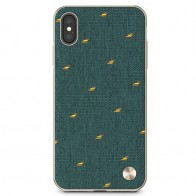 Moshi Vesta iPhone XS Max Hoesje Emerald Green 01