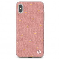 Moshi Vesta iPhone XS Max Hoesje Marcaron Pink 01