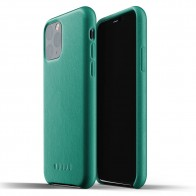 Mujjo Full Leather Case iPhone 11 Pro alpine green - 1