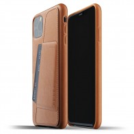 Mujjo Full Leather Wallet iPhone 11 Pro Max bruin - 1