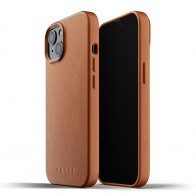 Mujjo Leather Case iPhone 13 Bruin - 1