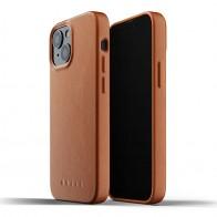 Mujjo Leather Case iPhone 13 Mini Bruin - 1