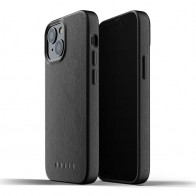 Mujjo Leather Case iPhone 13 Mini Zwart - 1