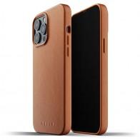 Mujjo Leather Case iPhone 13 Pro Max Bruin - 1