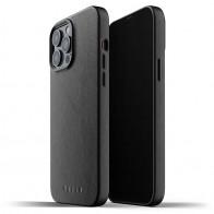Mujjo Leather Case iPhone 13 Pro Max Zwart - 1
