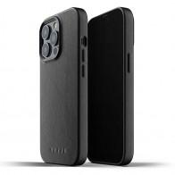 Mujjo Leather Case iPhone 13 Pro Zwart - 1