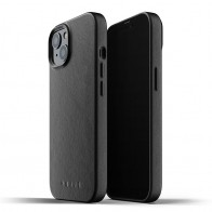 Mujjo Leather Case iPhone 13 Zwart - 1