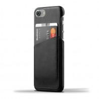 Mujjo Leather Wallet Case iPhone 7 Black 01