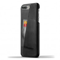 Mujjo Leather Wallet Case iPhone 7 Plus Black 01