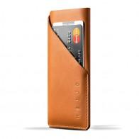 Mujjo Leather Wallet Sleeve iPhone 6 Tan Brown - 1