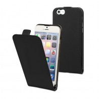 Muvit Slim Flip Case iPhone 6 Black - 1