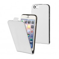Muvit Slim Flip Case iPhone 6 White - 1