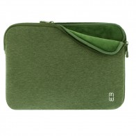 MW Sleeve voor Macbook Pro 13 inch / Macbook Air 2018 Groen - 1