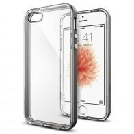 Spigen Neo Hybrid Crystal iPhone SE / 5S / 5 Gunmetal - 4