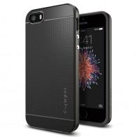 Spigen Neo Hybrid iPhone SE / 5S / 5 Gunmetal - 4