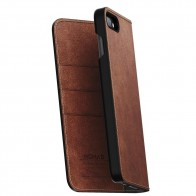 Nomad Leather Folio Case iPhone 8 Plus/7 Plus Bruin - 1