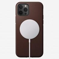 Nomad Leather MagSafe Case iPhone 12 / 12 Pro Bruin - 1