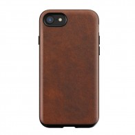 Nomad Rugged Leather Case iPhone 8/7 Bruin - 1