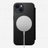 Nomad Rugged MagSafe Folio iPhone 13 Mini Zwart 01