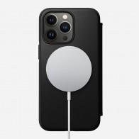 Nomad Rugged MagSafe Folio iPhone 13 Pro Max Zwart 01