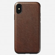 Nomad Rugged Leather Case iPhone X/XS Bruin - 1