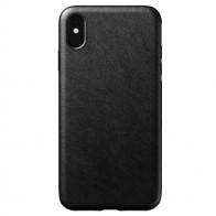 Nomad Leather Case iPhone XS Max Zwart 01