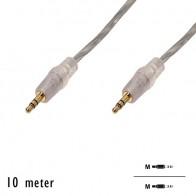 """OEM - Audio kabel """"Jack 3.5mm"""" M/M (10 Meter)"""