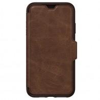 Otterbox Strada Folio iPhone XS Max Hoesje Espresso Bruin 01