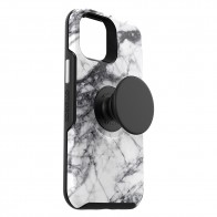 Otterbox Symmetry Otter+Pop iPhone 12 / 12 Pro 6.1 Wit Marmer - 1